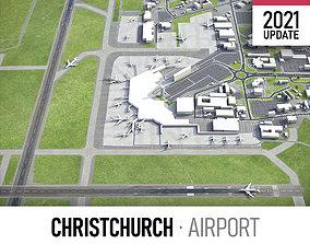 Christchurch Airport 3D asset