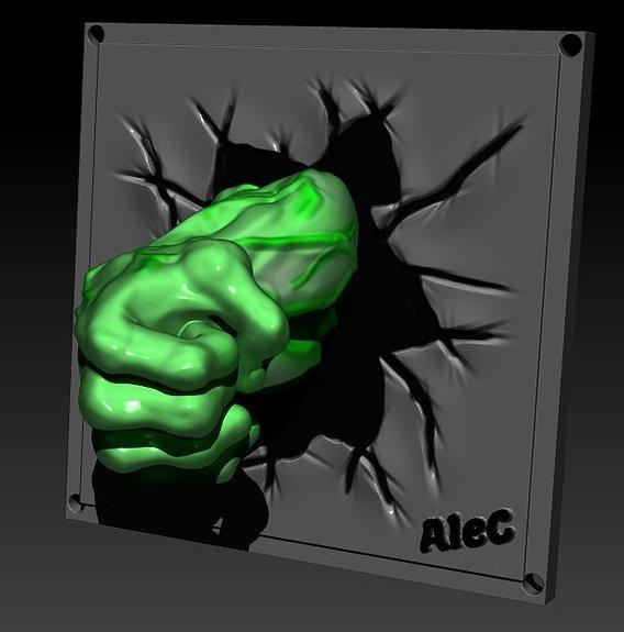 Hulk Mirror Fist