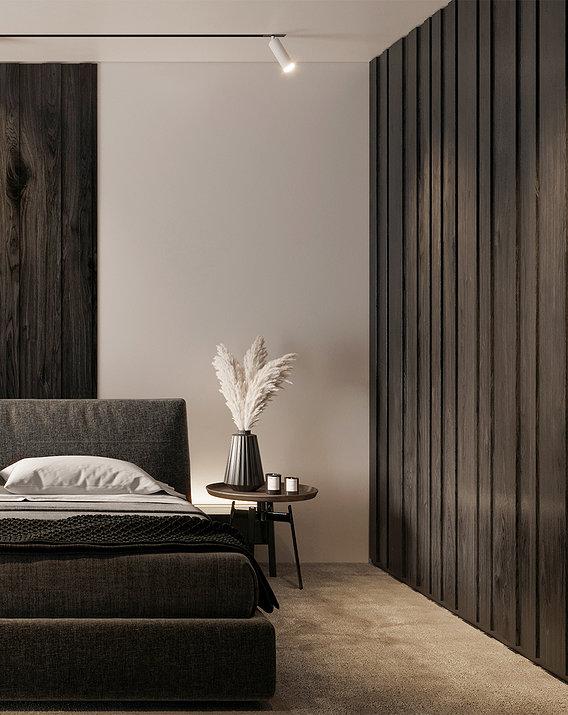 Master Bedroom Dark Color