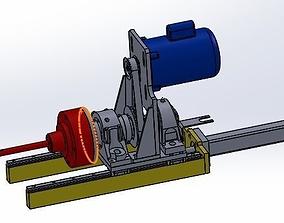 portable drill equipment 3D