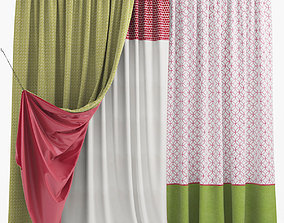 3D pattern Curtains