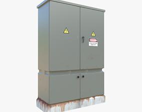 3D model Electrical Control Box
