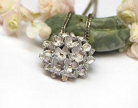 zbrush Necklace pendant - Bouquet - Buy 3D model