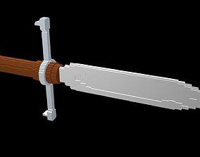 3D Dagger voxel