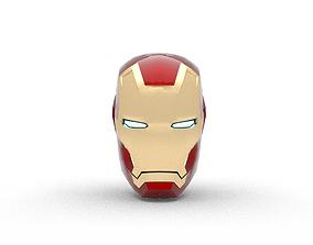 Iron Man Helmet 3D asset VR / AR ready