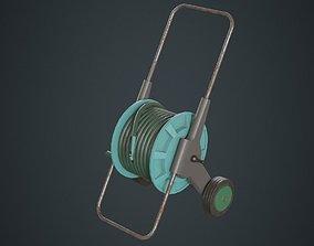 Hose Cart 1B sprinkler 3D model