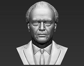 Jack Nicholson bust 3D printing ready stl obj