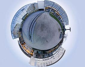 5 Exterior Panoramas 360x180 3D model