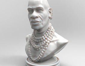 The Nubian Printable Bust