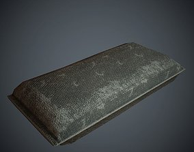 3D model Sandbag PBR Low Poly
