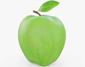 3D asset Green Apple