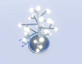 3D print model DIY tree lamp