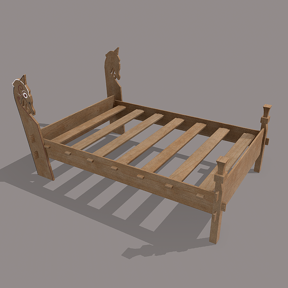 Viking Bed Frame