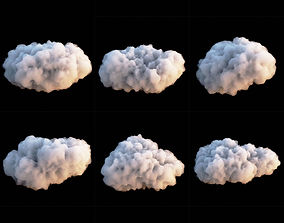 Clouds Set 3 3D model