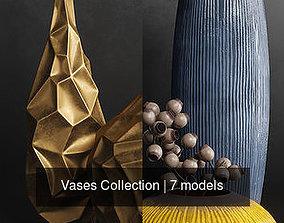 decorative Vases Collection 3D