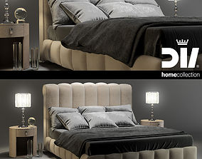 3D DV HOME bed BYRON letto