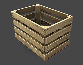3D asset Old Crate