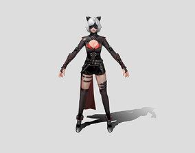 3D model Cat Woman