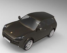 3D Porsche Cayenne 2008