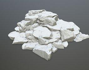 sand 3D printable model rock print