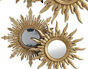 Eichholtz mirror collection wall-mirror 3D