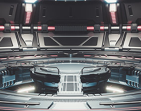 free 3D Sci-fi Scene for rendering Restyling - TESLA