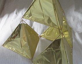Tetraedron Kite Kit 3D printable model