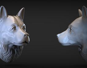 3D print model Sheepdog head