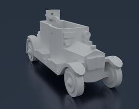 Minerva Armored Car 3D print model