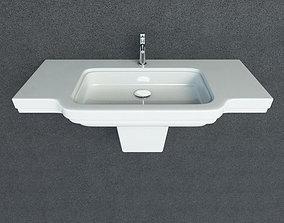 Washbasin Laufen LB3 3D