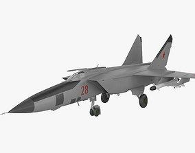 Mikoyan-Gurevich MiG-25 3D