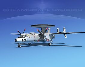 3D Grumman E-2C Hawkeye V06
