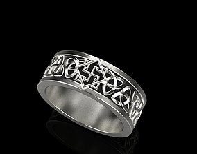 celtic knot wedding ring 2 3D print model