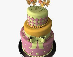 Stylized Cake 3D