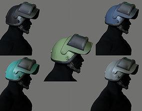 Russian Assault Helmet PSH-77 low-poly 3d model low-poly