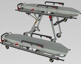 3D Hospital Stretcher