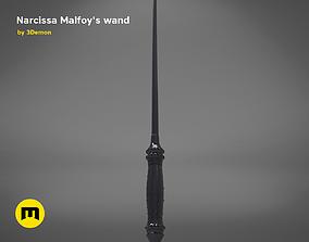3D print model Wand of Narcissa Malfoy