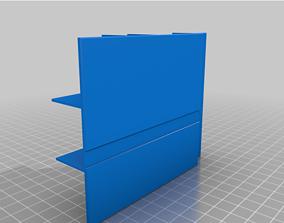 3D model Ender 3 Tray Nozzle Holder Organizer