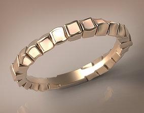 3D printable model Irish cream enamel ring