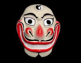 Asian mask carnival 3D print model