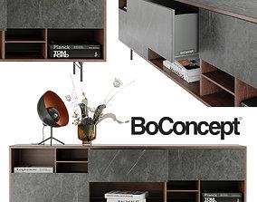 beautiful setup BoConcept 3D model