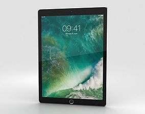 3D Apple iPad Pro 12-9-inch 2017 Space Gray