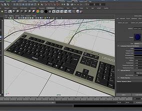 Keyboard 3d Model by Dark and Maezay gadgets