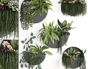 Green wall decor vertical garden 56 3D
