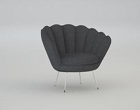 designer relaxing chair 3D