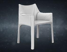 3D Mario Bellini Cab Chair
