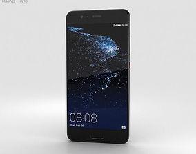 Huawei P10 Plus Graphite Black 3D