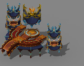 pavilion Game model - the city main city of illusion