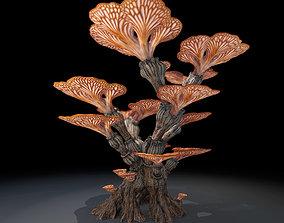Alien Plant Mushroom Type 1 3D asset