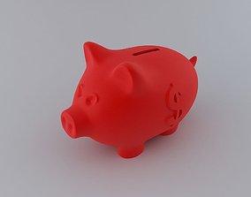 Piggy Money Bank 3D print model